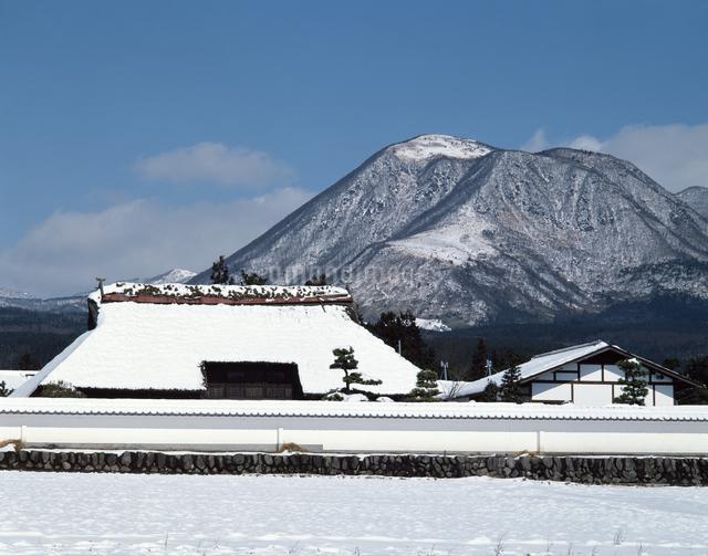 冬の赤城山の写真素材 [FYI04137021]