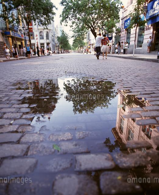 中央大街(旧キタイスカヤ通り)の写真素材 [FYI04137058]