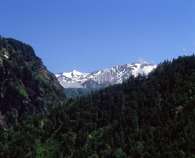 北アルプス 白馬岳の写真素材 [FYI04137076]