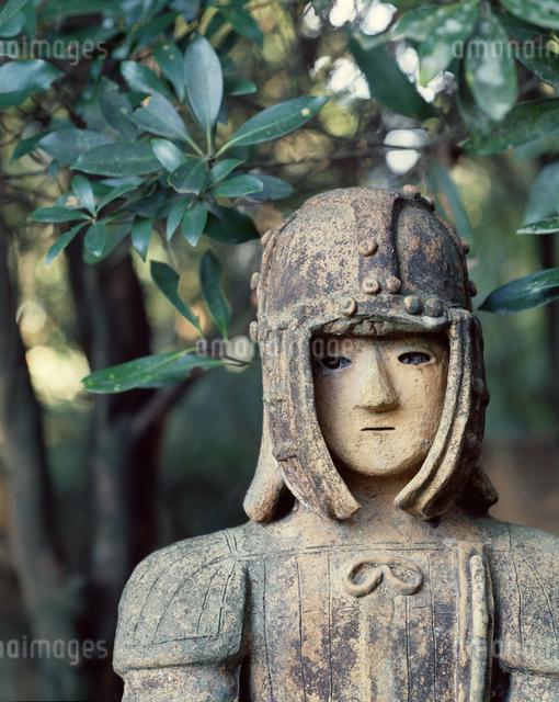 はにわ園の埴輪の写真素材 [FYI04137305]