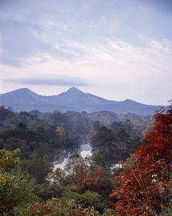 裏磐梯 中瀬沼の写真素材 [FYI04137329]