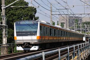 JR中央線E233系の写真素材 [FYI04137566]