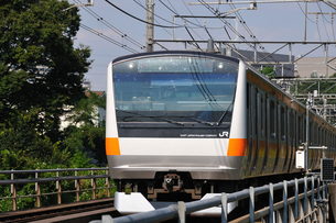 JR中央線E233系の写真素材 [FYI04137571]