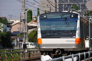 JR中央線E233系の写真素材 [FYI04137572]