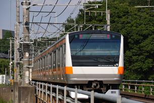 JR中央線E233系の写真素材 [FYI04137576]