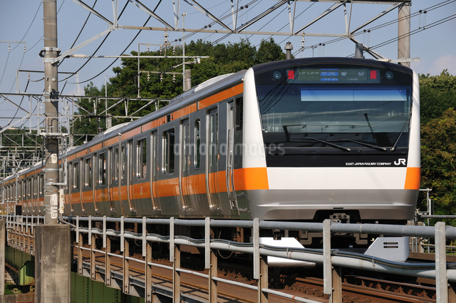 JR中央線E233系の写真素材 [FYI04137582]