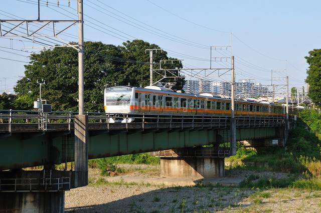 JR中央線E233系の写真素材 [FYI04137584]