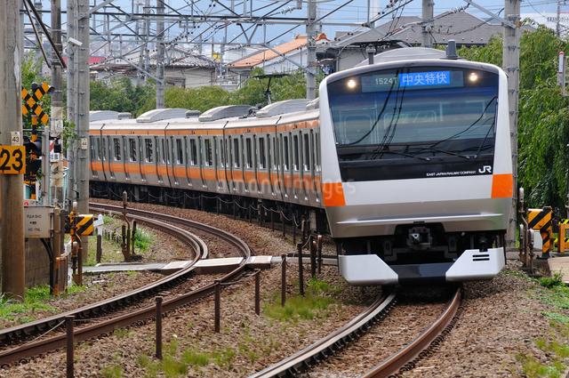 JR中央線E233系の写真素材 [FYI04137593]