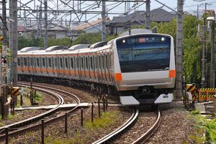 JR中央線E233系の写真素材 [FYI04137597]