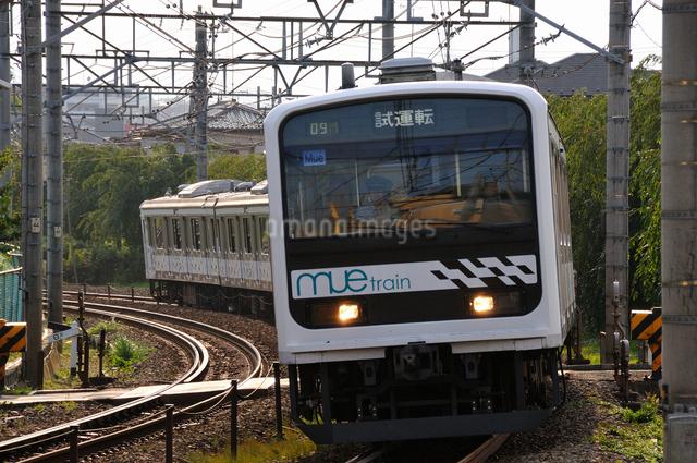 JR MUE多目的試験電車の写真素材 [FYI04137600]