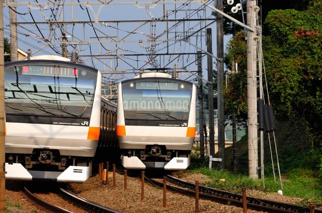 JR中央線E233系の写真素材 [FYI04137602]