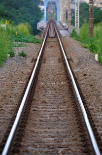 線路の写真素材 [FYI04137607]