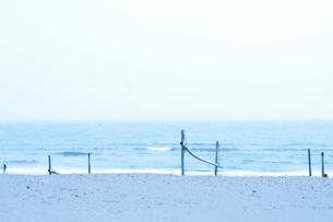 茅ケ崎の海の写真素材 [FYI04137655]