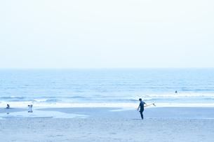 茅ケ崎の海の写真素材 [FYI04137656]