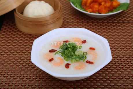 中華粥の写真素材 [FYI04139901]