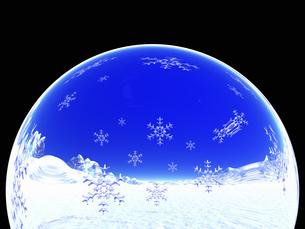 雪の結晶の写真素材 [FYI04140049]