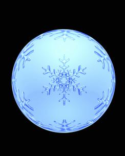 雪の結晶の写真素材 [FYI04140050]