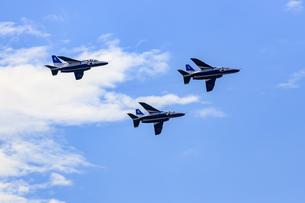 2019年 松島基地 航空祭 ブルーインパルスの写真素材 [FYI04140461]