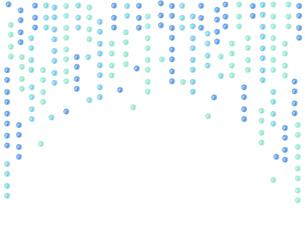 水玉模様水彩テクスチャーのイラスト素材 [FYI04140566]