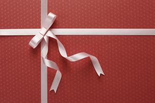 プレゼントのリボンの写真素材 [FYI04143798]