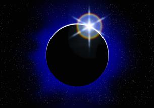 皆既日食の写真素材 [FYI04144149]