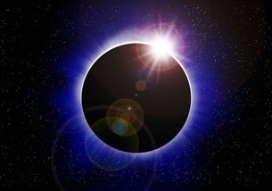 皆既日食の写真素材 [FYI04144150]