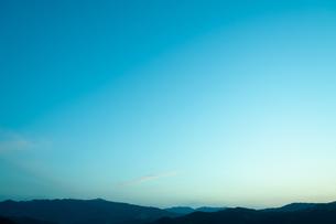 夕暮れ時の写真素材 [FYI04145276]