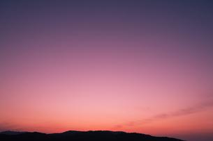夕暮れ時の写真素材 [FYI04145277]