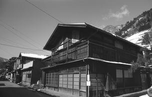 奥多摩,丹波山村,民家の写真素材 [FYI04145913]