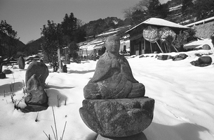 奥多摩,丹波山村,金竜寺の写真素材 [FYI04145920]