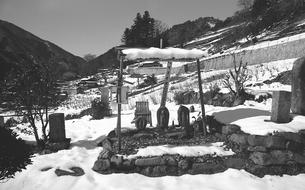 奥多摩,丹波山村,金竜寺の写真素材 [FYI04145923]