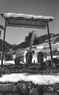 奥多摩,丹波山村,金竜寺の写真素材 [FYI04145924]
