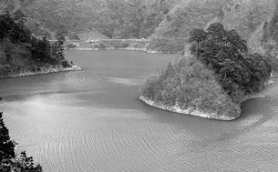 奥多摩湖,の写真素材 [FYI04146000]