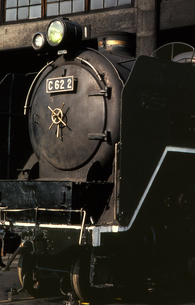 梅小路蒸気機関車館の写真素材 [FYI04146116]