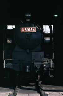 梅小路蒸気機関車館の写真素材 [FYI04146125]