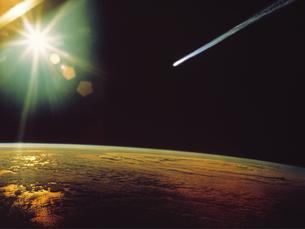 ハレー彗星の写真素材 [FYI04146751]