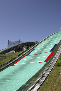 白馬ジャンプ競技場の写真素材 [FYI04150970]