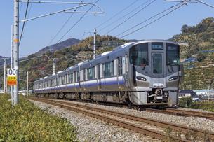 日本の鉄道、紀勢本線の写真素材 [FYI04151394]