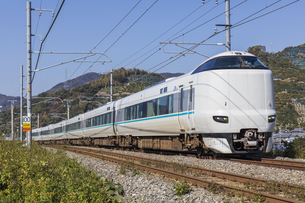 日本の鉄道、紀勢本線、特急くろしお号の写真素材 [FYI04151397]