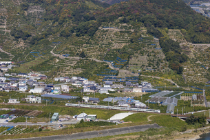 日本の鉄道、紀勢本線、特急くろしお号の写真素材 [FYI04152482]