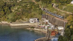 日本の鉄道、紀勢本線の写真素材 [FYI04152737]
