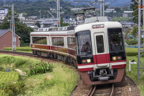 日本の鉄道、南海電鉄特急こうやの写真素材 [FYI04154217]