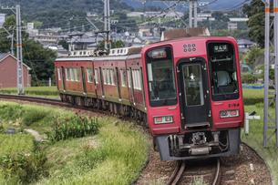 日本の鉄道、南海高野線の写真素材 [FYI04154220]