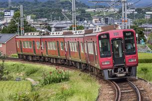 日本の鉄道、南海高野線の写真素材 [FYI04154223]