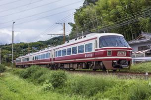 日本の鉄道、南海電鉄特急こうや号の写真素材 [FYI04154381]