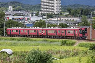 日本の鉄道、南海高野線の写真素材 [FYI04154388]