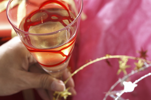 ワイングラスの写真素材 [FYI04155925]