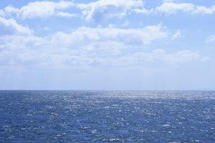 水平線の写真素材 [FYI04156204]