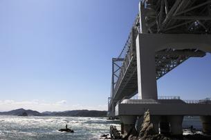 大鳴門橋の写真素材 [FYI04156235]