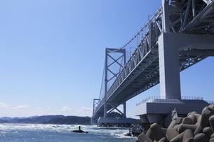 大鳴門橋の写真素材 [FYI04156238]